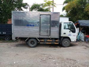 xe tải chở hàng 1t4