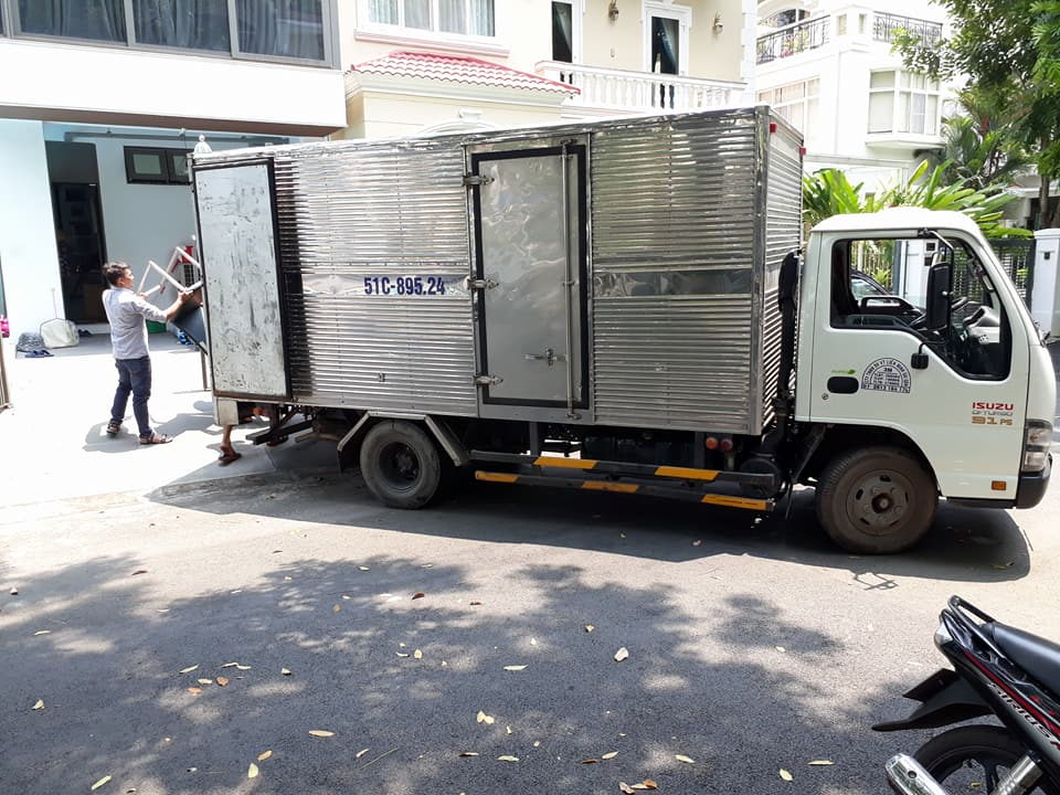 xe tải 2t thùng 4m3