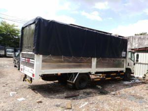 xe tải 5 tấn chở hàng