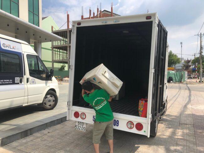 xe tải chở hàng từ TPHCM đi Đắk Lắk