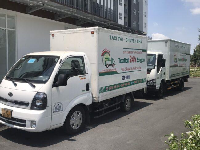xe tải chở hàng từ TPHCM đi Hậu Giang
