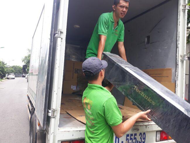 xe tải chở hàng từ TPHCM đi Trà Vinh