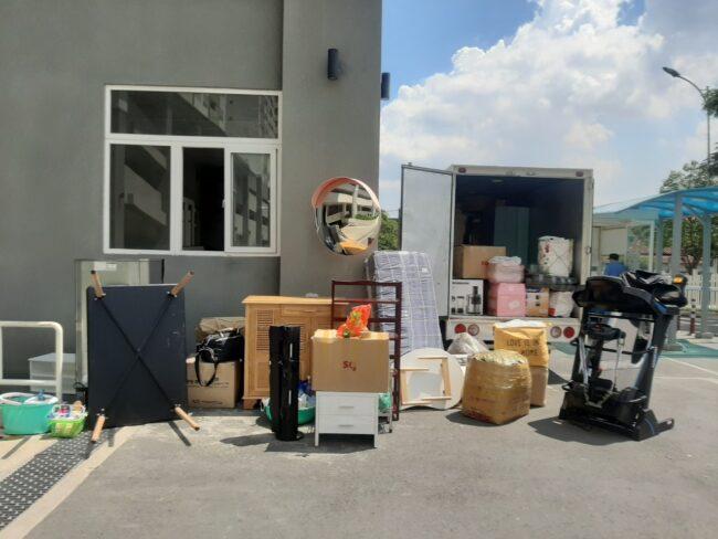 xe tải chở hàng từ TPHCM đi Khánh Hòa